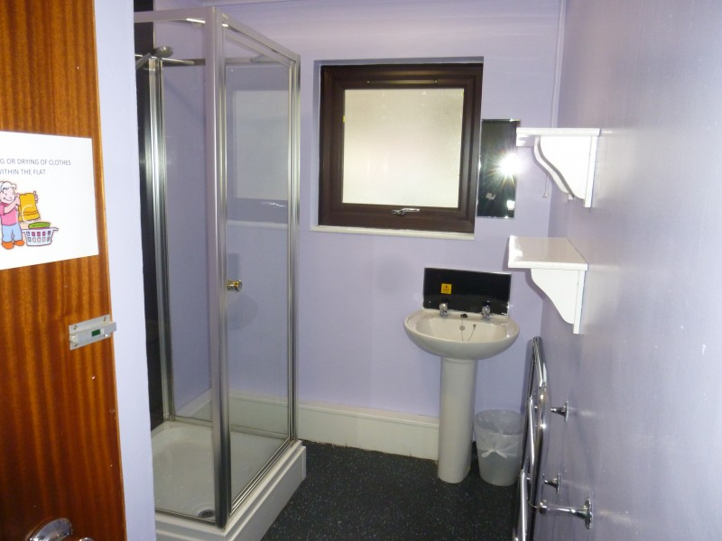 SHARED FLAT BATHROOM