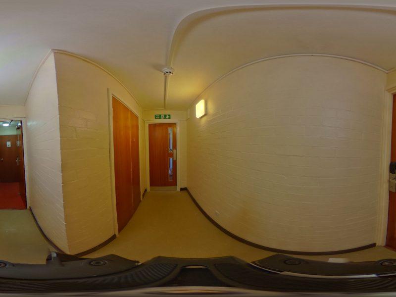 Hallway inside Clapham House